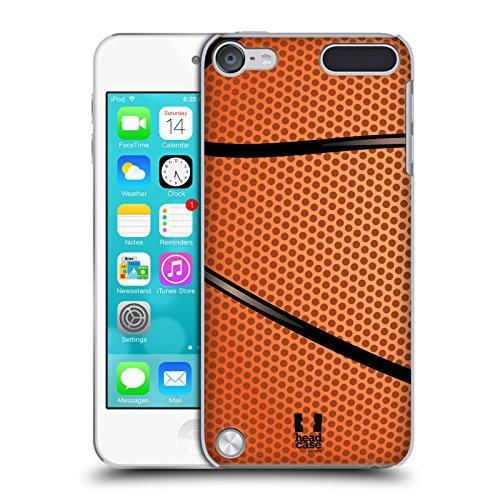 Head Case Designs Baloncesto Colección de Bolas Carcasa rígida Compatible con Apple iPod Touch 5G 5th Gen