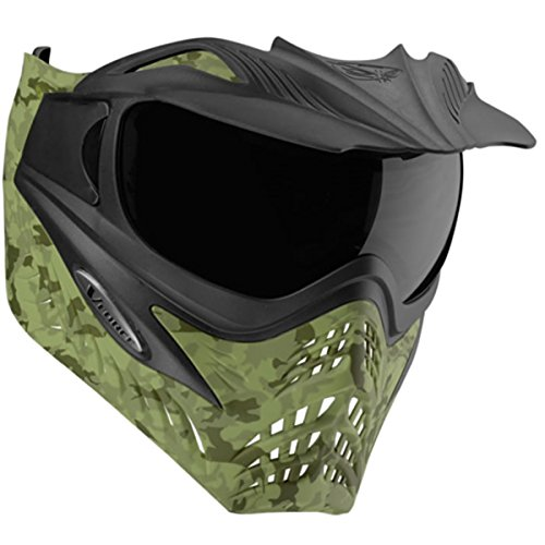 G.I. Sportz VForce Grill Paintball Mask/Thermal Goggles (Jungle Camo Green)