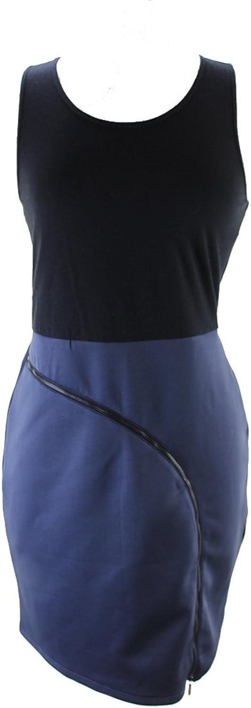 Rachel Rachel Roy Black colorblock Zipper Fitted Sheath Dress at Ease Black