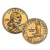 2007 P, D Native American (Sacagawea/Golden) Dollar 2 Coin Set Uncirculated