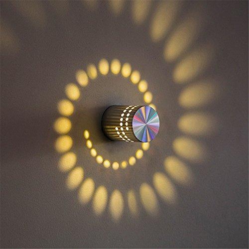 Modern LED-vägglampa lampett kreativt hotell sovrum sängbord gång nattlampa KTV vägglampa vardagsrum utomhus LED vägglampa 55 mm x 75 mm med E27-uttag för hus, bar, restauranger, kafé.