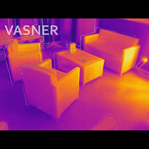 VASNER StandLine 25R – silber grau – Stand-Heizstrahler, 2500 Watt, Infrarotstrahler, Terrassenstrahler elektrisch - 9