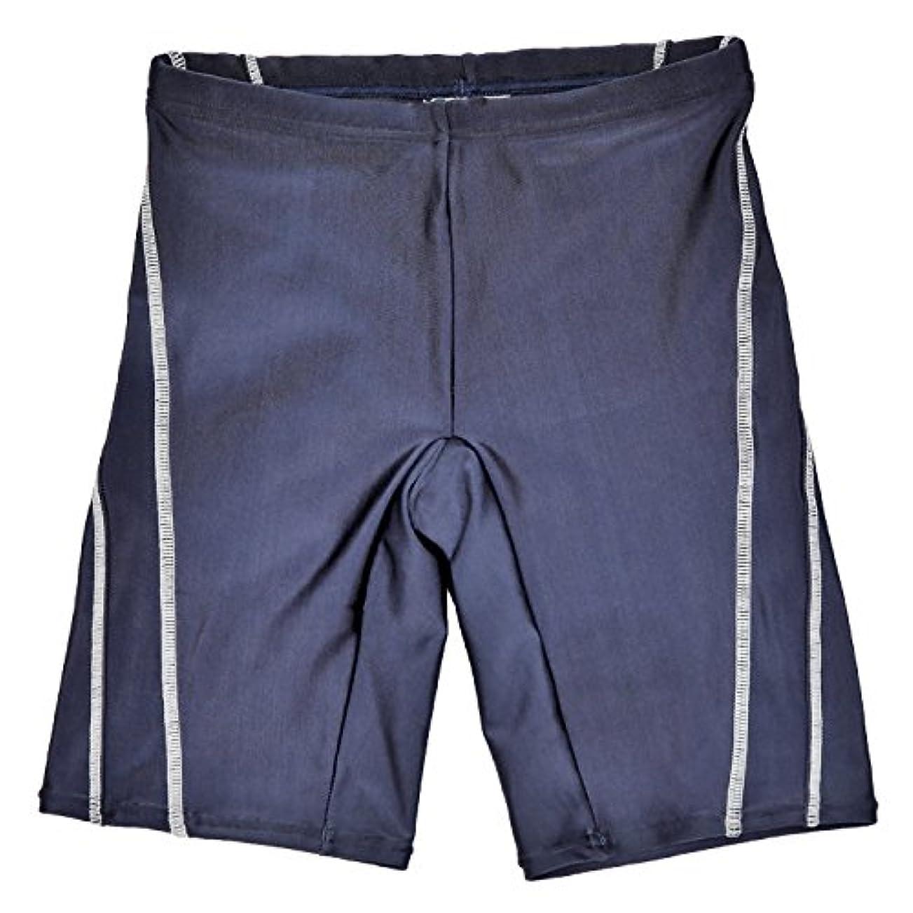 なめらかトランクうまくやる()(ラクア)LAQUA キッズ スクール水着 男の子 ステッチライン 学校用水着
