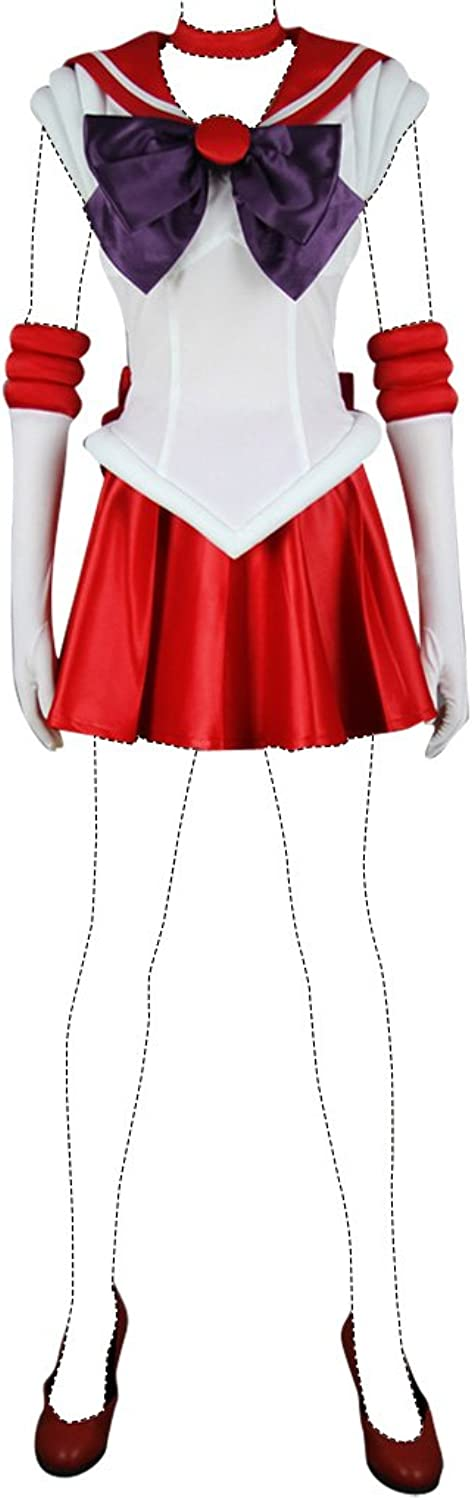 costo real Holysteed Sailor Moon CosJugar CosJugar CosJugar Costume Sailor Mars Rei Hino Costume Set US mujer 9.5  servicio de primera clase