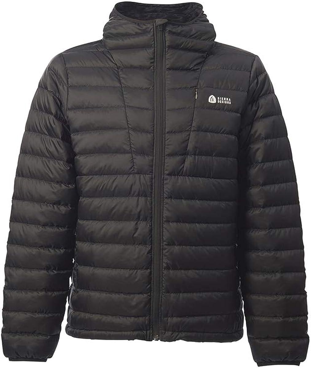 Sierra Designs Men's Whitney Jacket, 800 Fill DriDown Insulation, Packable and Hooded Winter Jacket