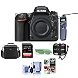 Nikon D750 FX-Format Digital SLR Body Only Camera - Bundle with Camera Bag, 32GB Class 10 SDHC Card, Remote Shutter Trigger, Cleaning Kit, SD Card Case, SD Card Reader, Pc Software Package