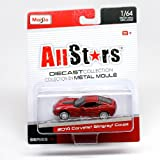 2014 Corvette Stingray Coupe (Red) All Stars Series 14 2014 Maisto 1:64 Scale Die-Cast Collection