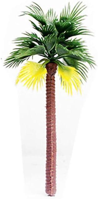DAOHE Layout Rainforest Plastic Palm Jacksonville Mall Tree free Scenery Artifici Model
