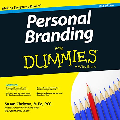 Personal Branding for Dummies, 2nd Edition cover art