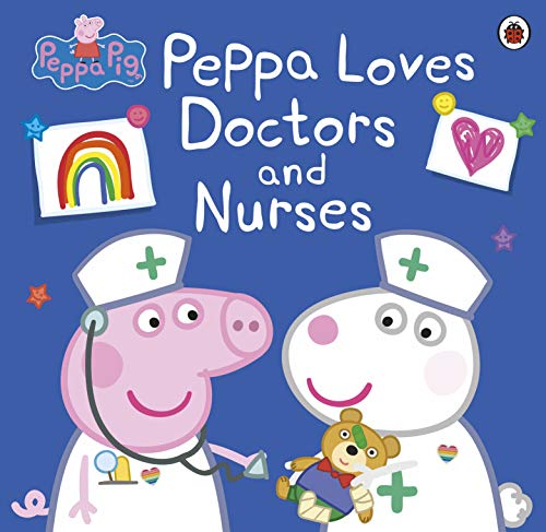 Peppa Pig: Peppa Loves Doctors and Nurses (English Edition)