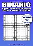 Binario, el nuevo juego de puzzle adictivo: 300 Binario 12x12 con soluciones, nivel fácil - medio - difícil - Volumen 2
