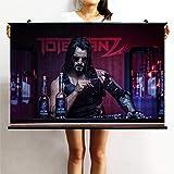 Holystep Wandbilder Cyberpunk Johnny Silverhand Poster for