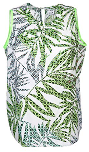 Emily van den Bergh Damen Bluse Größe XL Grün (grün)