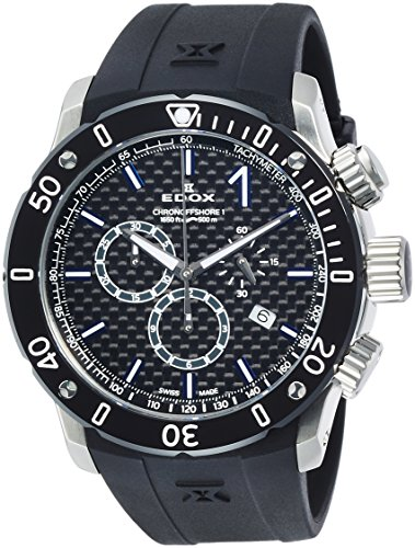 [エドックス] 腕時計 10221-3-NIBU2 正規輸入品 ブラック