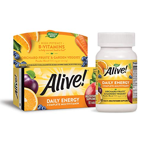 Nature's Way Alive! High Potency Daily Energy Multi-Vitamin...