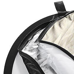walimex pro 5in1 folding reflector set Wavy, 102x168cm