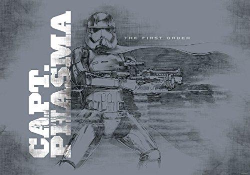Delester Design 2746VEXXXL behang Star Wars Episode VII Het ontwaken van de machcht, 4-delig, meerkleurig, 416 x 254 cm