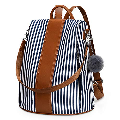 Newshows Large Backpack Purse for Women Canvas Antitheft Travel Rucksack...