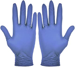 400 Vakly Nitrile Gloves - Powder-Free (Medium) - 400 COUNT