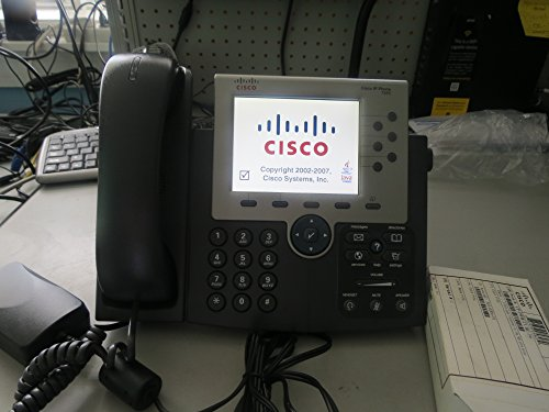 Cisco Unified IP Phone 7965G Color Gigabit VOIP IP Phone (CP-7965G=)