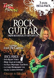 John McCarthy, Learn Rock Guitar Mega Pack by John McCarthy