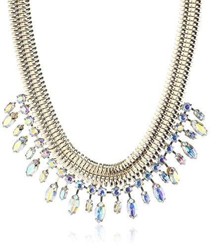 PIECES Damen-Halskette Metall DALINDA 17052935 Goldcolor