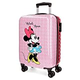 Disney Minnie 4411761 Valigia Bambini, Trolley Da Cabina, 55 Centimetri, 33 Litri, Rosa