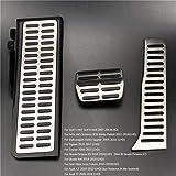 FENGFENG Sun Can Accesorios para automóviles Pooncillo de Gas Freno Pedal Pedal Pedal Ajuste para Skoda Octavia A5 Yeti Superb Fit para Seat Altea Leon Toledo Fit para Audi A3 TT