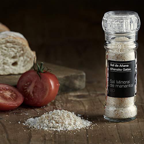 Molinillo Sal Mineral de Manantial con Ajo, 75 gr. SAL