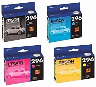 Kit 4 Cartuchos 296 T296 Epson Para Xp 231 Xp 431 XP231 XP431 TO296 T0296 Originais