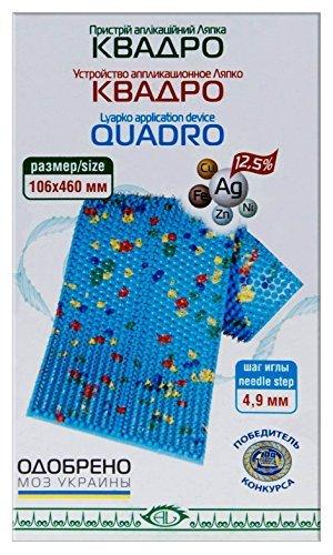 Aplicador de acupuntura Lyapko'Quadro' (46 cm x 10,6 cm, 18,1 x 4,1 pulgadas)