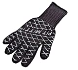 Charcoal Companion Ultimate Barbecue Pit Mitt Glove - For Grill or Oven - Measures 13' Long -...