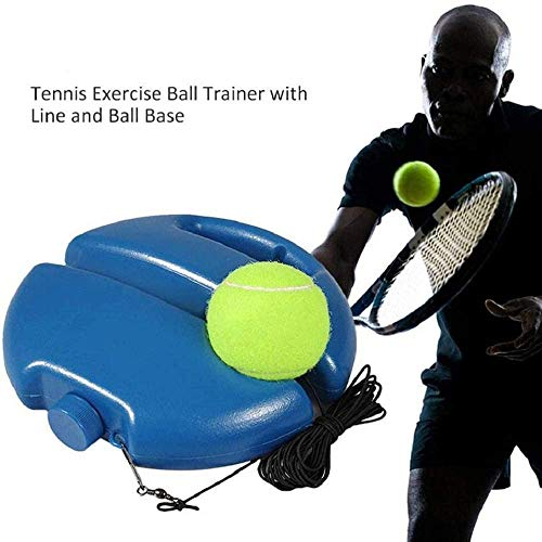 DTTN Kleines Ziel Tennistrainer Tennisball Singles Training Übungsbälle Back Base Trainer Tools Tennisball Back Base Trainer Tennisball Singles Training Übungsbälle, 1set