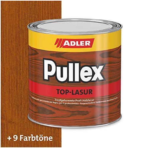 ADLER Pullex Top-Lasur - 2,5 L Kastanie - Tropfgehemmte Holzlasur in Profi-Qualität für Holz außen - Lasur in verschiedenen Holzfarbtönen