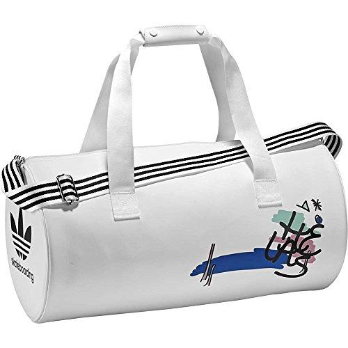 adidas HELASBAG, Mochila para Hombre, Blanco (Blanco), 24x36x45 cm (W x H x L)