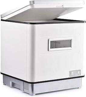 WZLJW Lavavajillas comact encimera DishAsher 3-en-1 SART DisinfectioDrying Abinet DishAsher SAAArtment OffiAnd Inicio Cocina - Ave SACE 48 * 45.5 * 53cm ggsm (Color : Silver)