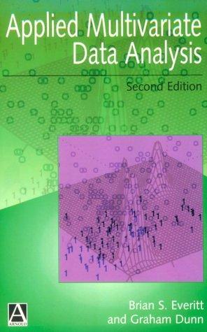 Applied Multivariate Data Analysis
