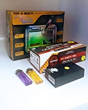 T2 Top-O-Matic Cigarette Rolling Machine+ FREE Shargio tubes, Case & lighters