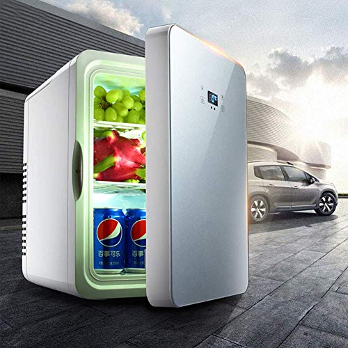 XKCQC 22 L car Mini Refrigerator, Cool and Warm Dual use, 12V Vehicle Voltage. Travel, self-Driving Tour, Camping, picnics The Best Choice for Summer