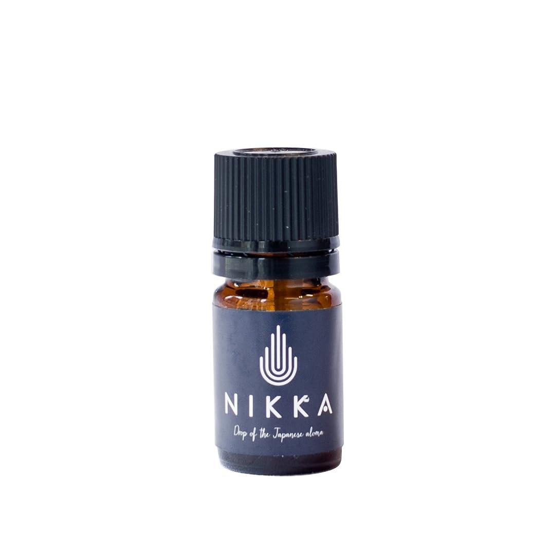 厄介な異常な恐怖症NIKKA エッセンシャルオイル 薄荷 5ml