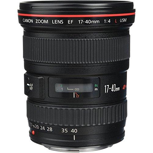 Canon 広角ズームレンズ EF17-40mm F4L USM フルサイズ対応
