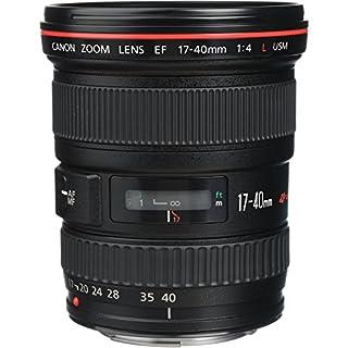 Canon EF 17-40mm F/4L USM - Objetivo para Canon (Distancia Focal 17-40mm, Apertura f/4-22, Zoom óptico 2.4X,diámetro: 77mm) Negro (B0000C4GAM) | Amazon price tracker / tracking, Amazon price history charts, Amazon price watches, Amazon price drop alerts