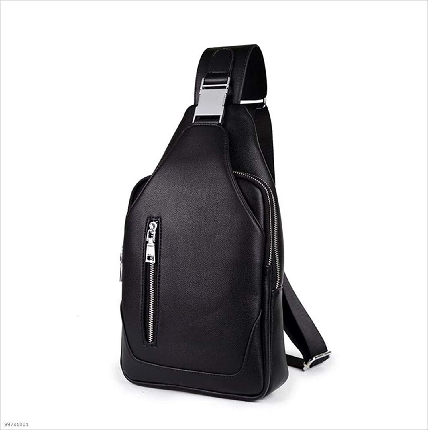 Men's Chest Strap Bag Waterproof Messenger Bag Multi-Function Chest Backpack