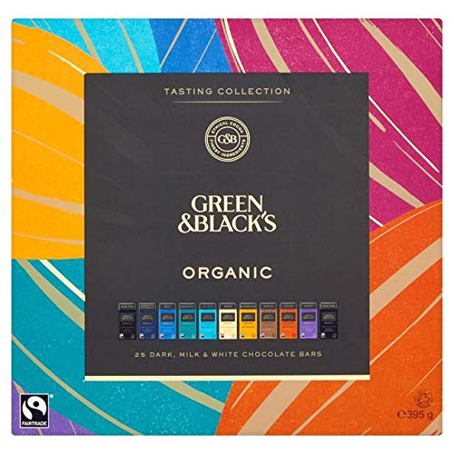 Green & Black's Organic Tasting Collection 395g (Case of 6)
