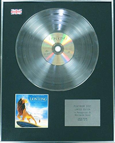 LION KING - CD - Disco de platino Ltd Edtn el rey León