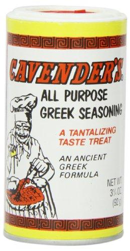Cavender s Greek Seasoning, 3 1 4-Ounce Shakers (Pack of 12)