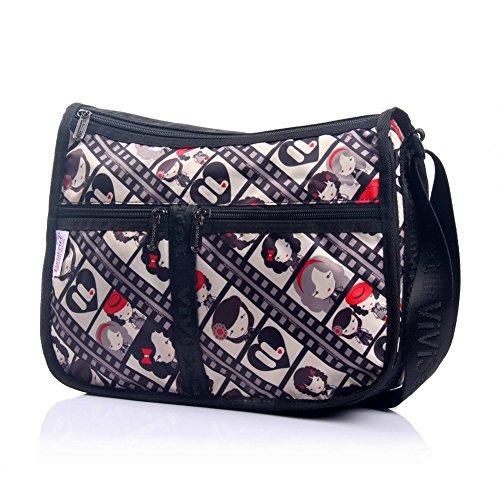 Sincere® Mode sac à bandoulière pour dames / sac Messenger / sac-15