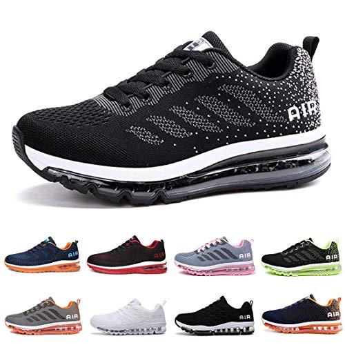 Zapatillas Running Hombre Mujer Deportivas Air Zapatos Deportivos Transpirables Sneakers Calzad...