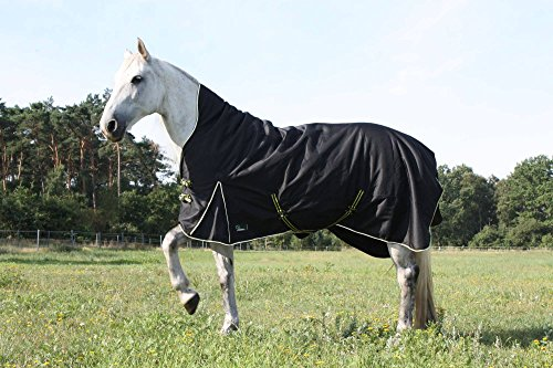 time4horses High Neck Thermodecke Pferdedecke Winterdecke Outdoordecke 200gr. 1200Denir