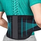 SYXUPAP Faja Lumbar para Espalda, Cinturón Lumbar Soporte Ayuda a Aliviar Dolor y Prevenir Daños, Ciática, Estenosis Espinal, Escoliosis o Hernia de Disco etc (Medium)